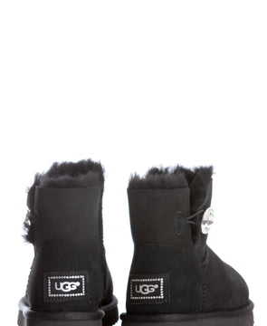 Cizme de piele Mini Bailey Button Bling UGG AUSTRALIA