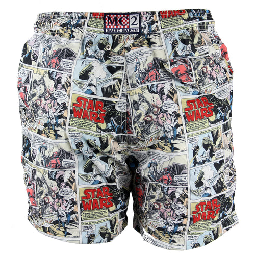 Short de baie multicolor MC2 Saint Barth Lighting SW Comics