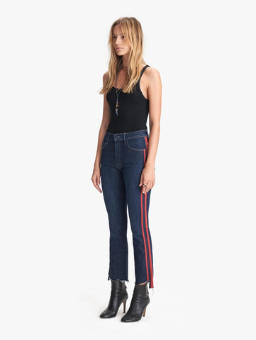 Jeans The Insider Crop Step Fray Mother Denim