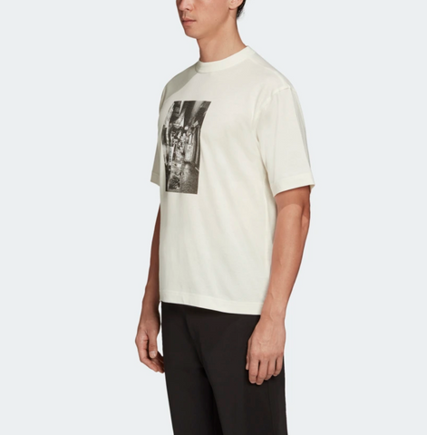 Tricou alb Alleyway Graphic Y-3