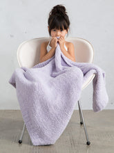 Load image into Gallery viewer, Chenille Blanket Lavender