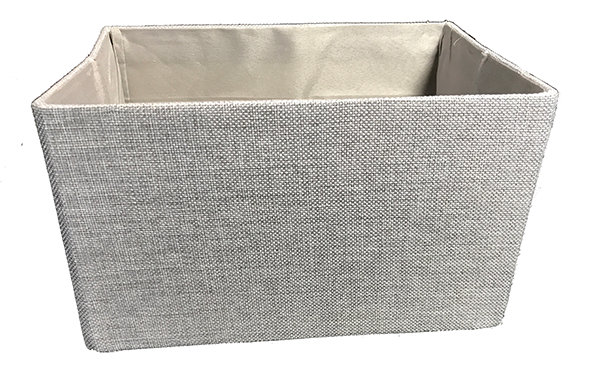 Canvas Box in Grey