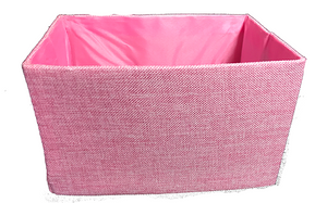 Canvas Box in Pink