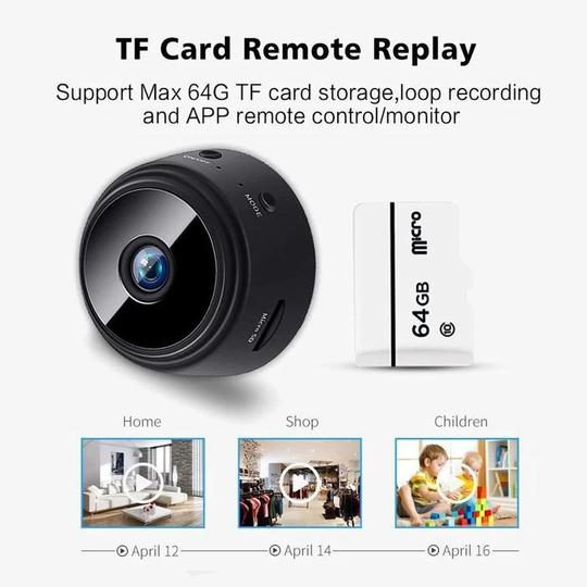 Night Vision Magnetic Wireless Camera