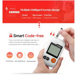 Home Use Blood Glucose Meter Tester (50 Tester Strips Free)