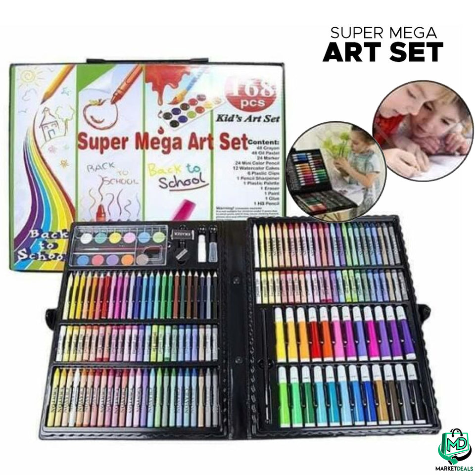 Mega Art Set (168PCS INCLUDED)