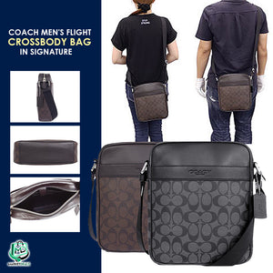 COACH UNISEX FLIGHT BAG (Preium Quality)