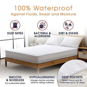MATTRESS COVER WATER PROOF/INSECT PROOF