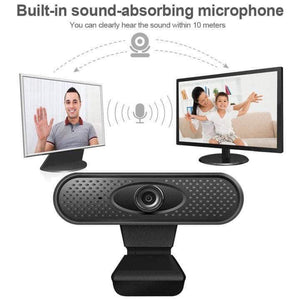 Full HD 1080p Webcam (Built-in Microphone)