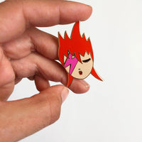 Pins | Ziggy | Badge  | Broche émaillée
