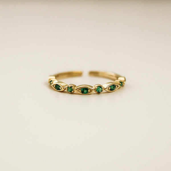 Emerald Ring (Gold)