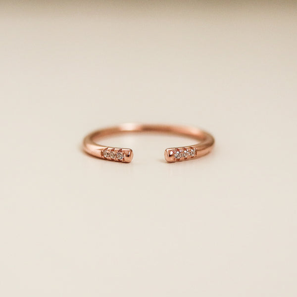 Odette Ring (Rose Gold)
