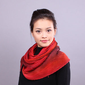 Shibori Silk Scarves and Shawls