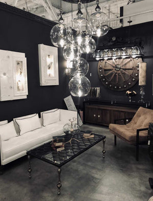 New Lighting, Furniture, and Home Accessories by Artist, Designer Theresa Costa of Luna Bella