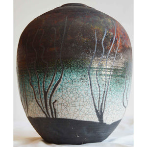 Artist Potter Norman Bacon, Raku Works From His Personal Collection