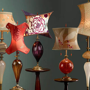 Artistic, Artisan-Crafted Hand-blown Glass Lamps by Kinzig Design, Susan and Caryn Kinzig