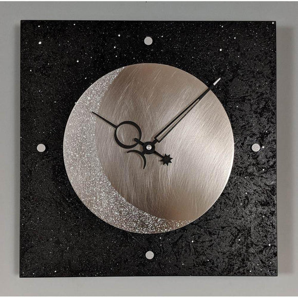Clocks, Wall Clocks, Pendulum Clocks, Artistic, Geometric Copper, Steel, Nickel Silver, and Wood Clocks
