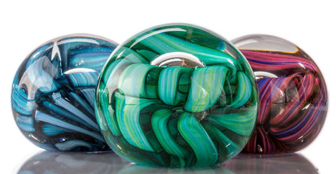 Mike (Michael) Hudson Glass Artist, Artisan Handblown Art Glass Paperweights