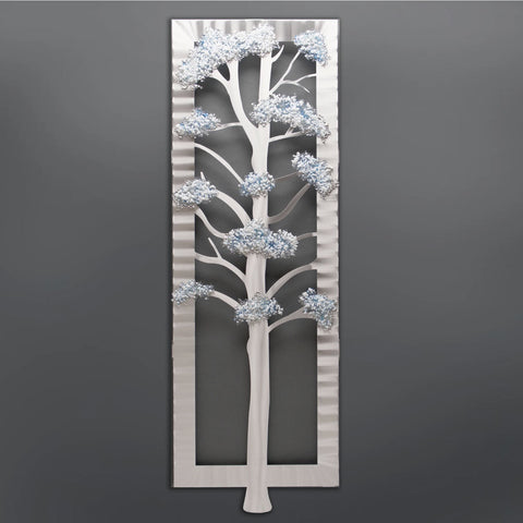 Four Seasons Wall Sculptures by Sondra Gerber creator of Metal Petal Art