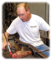 About Nathan Sheafor, Co-founder The Glass Forge, Art Glass Craftsman