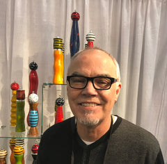 Robert Wilhelm creator of Raw Design Salt and Pepper Shakers, Mills, Grinders