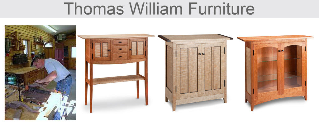 Thomas William Furniture, Tom Dumke, Artistic Artisan Designer Furniture