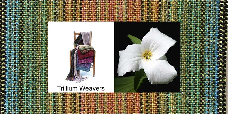 Trillium Weaver Chenille Scarves-Scarf Promotional Image