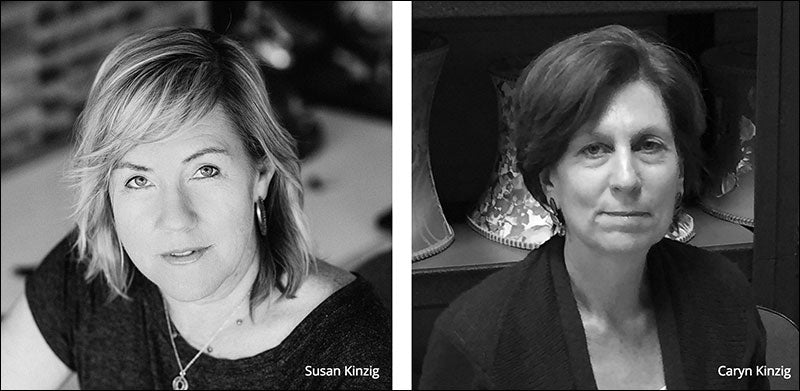 Susan Kinzig and Caryn Kinzig of Kinzig Design