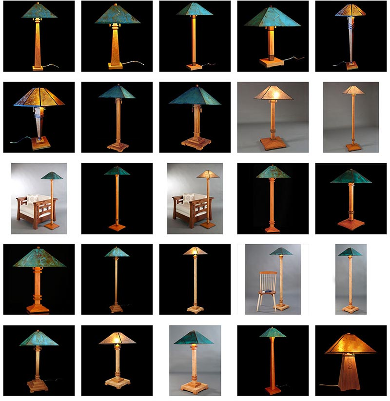 Franz Kessler Designs Lamps Group Images