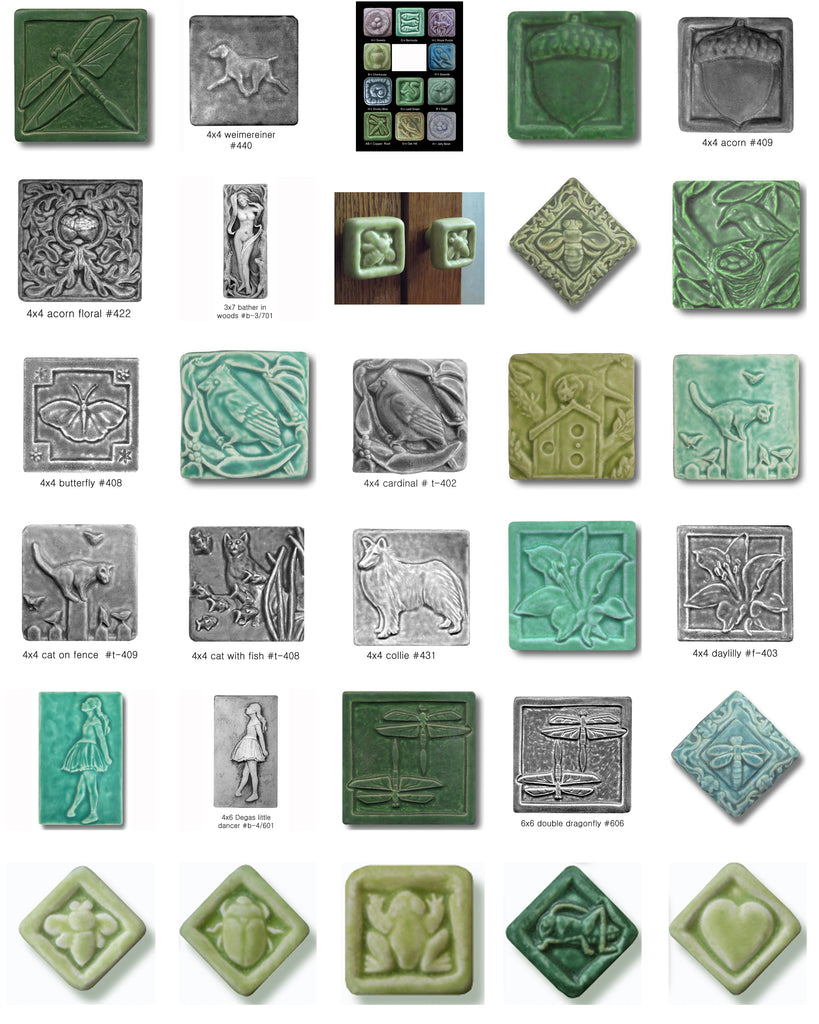Whistling Frog Tile Company Grouped Cabinet Hardware Product Image 1