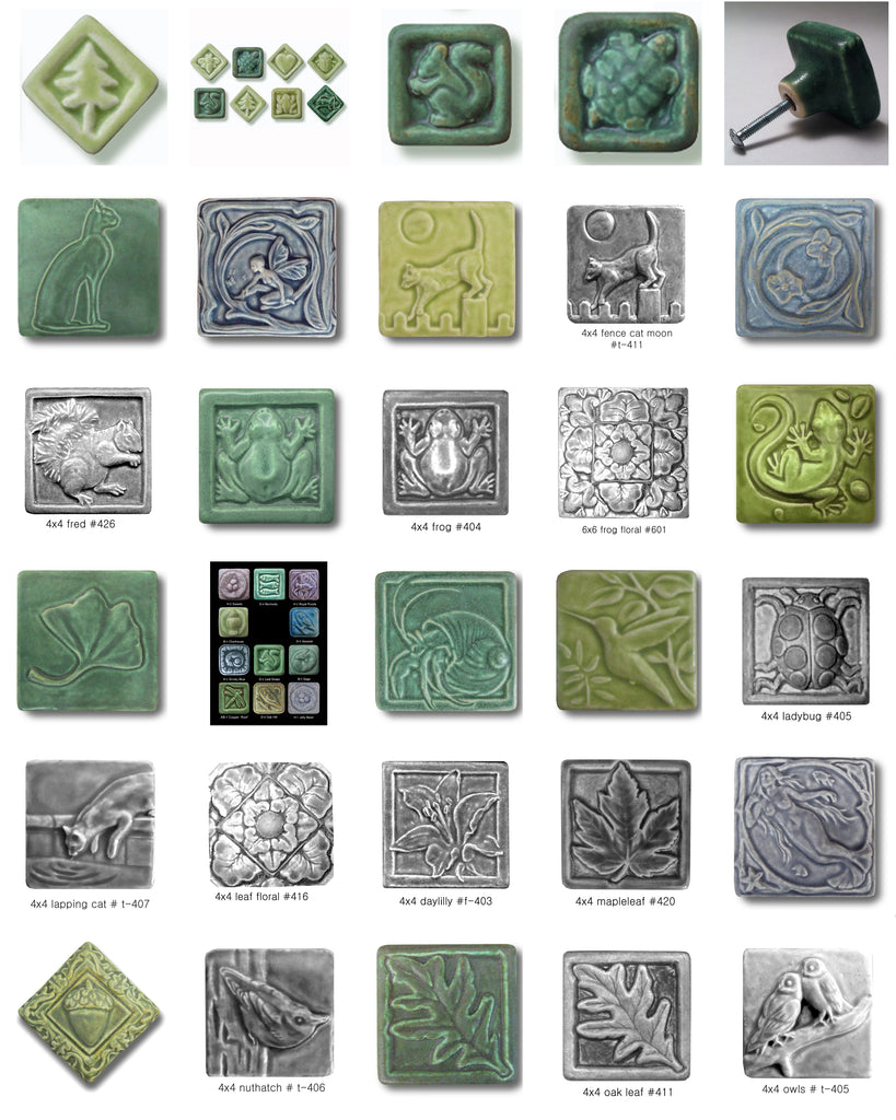 Whistling Frog Tile Company Grouped Cabinet Hardware Product Image 2
