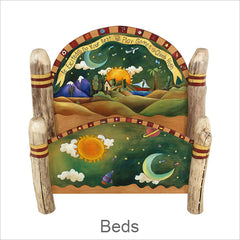 Artistic Beds, Contemporary Artisan Designer Beds