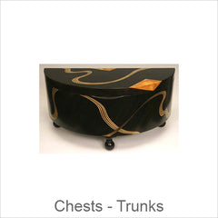 Artistic Chests-Trunks, Contemporary Artisan Designer Chests-Trunks