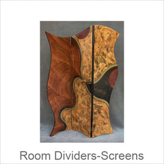 Artistic Room Dividers-Screens, Contemporary Artisan Designer Room Dividers-Screens