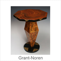 Grant-Noren Faux Finish Tables, Artistic Artisan Designer Tables