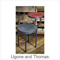 Janna Ugone and Thomas Tables, Contemporary Artisan Designer Tables