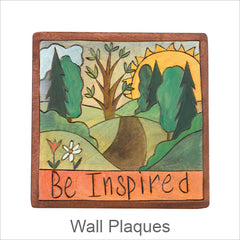Sticks Plaques, Hand Painted Artistic Plaques with Inspirational Words & Phrases
