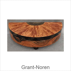 Grant Noren Faux Finish Wood Boxes, Contemporary Artistic Designer Faux Finish Boxes