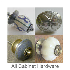 Artistic Cabinet Hardware, Contemporary Artisan Designer Cabinet and Door Hardware