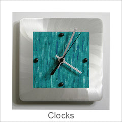 Artistic Clocks, Contemporary Artisan Designer Clocks