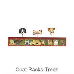 Artistic Coat Racks & Coat Trees, Contemporary Artisan Designer Coat Racks