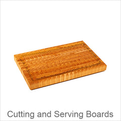 Larch Wood Cutting and Serving Boards