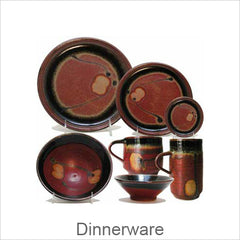 Artistic Stoneware Dinnerware Pieces, Contemporary Designer Stoneware Pieces