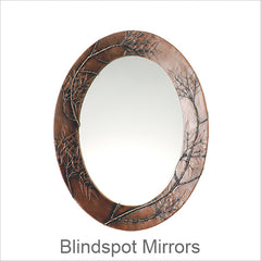 Blindspot Mirrors, Artistic Artisan Designer Mirrors with Botanical Designs & Abstract Themes