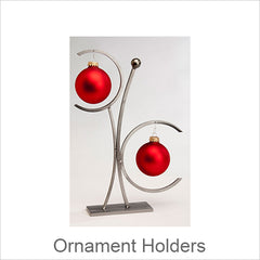 Artistic Ornament Holders, Contemporary Artisan Designer Ornament Holders