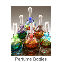 Blown Glass Perfume Bottles