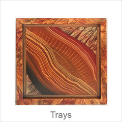 Artistic Trays, Contemporary Artisan Designer Trays