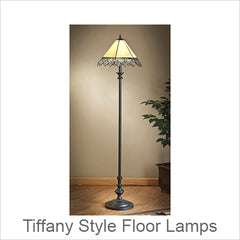 Tiffany Style Floor Lamps, Stained Glass Floor Lamps