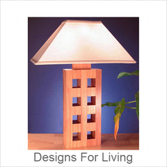 Designs For Living Artisic Table Lamps, Contemporary Artisan Designer Table Lamps