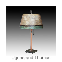 Ugone and Thomas Lamps, Artistic Artisan Designer Lamps